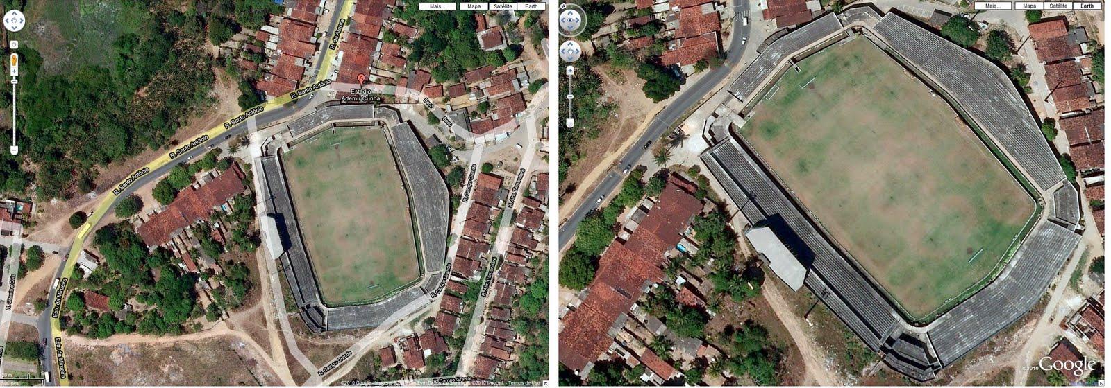 Ademir Cunha via satélite