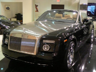 Rolls-Royce : Phantom There are four things I am busy working on