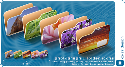 PhotoGraphic Folders iconos rocketdock objectdock pepua personalizacion