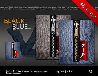 Jeans Special Edition iconos rocketdock objectdock pepua personalizacion