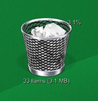 Trash Bin Deluxe - Yahoo Widgets descarga download Personalizacion y Seguridad