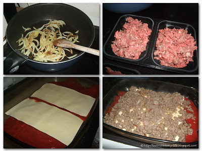 Lasagnes à la sauce bolognaise sans béchamel (voir la recette)