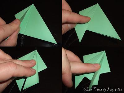 Les trucs de myrtille plier une grenouille vite fait origami toujours - Origami grenouille sauteuse pdf ...