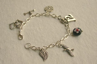 The Hunger Games inspired charm bracelet