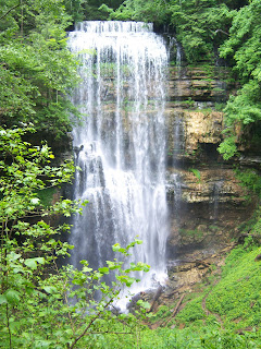 Hike to Virgin Falls in Tennessee