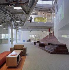 interior design ideas of google headquarters