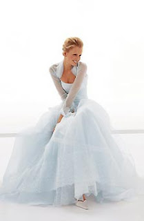 Blue Wedding Inspiration Board Ice Couture Bridal Gown