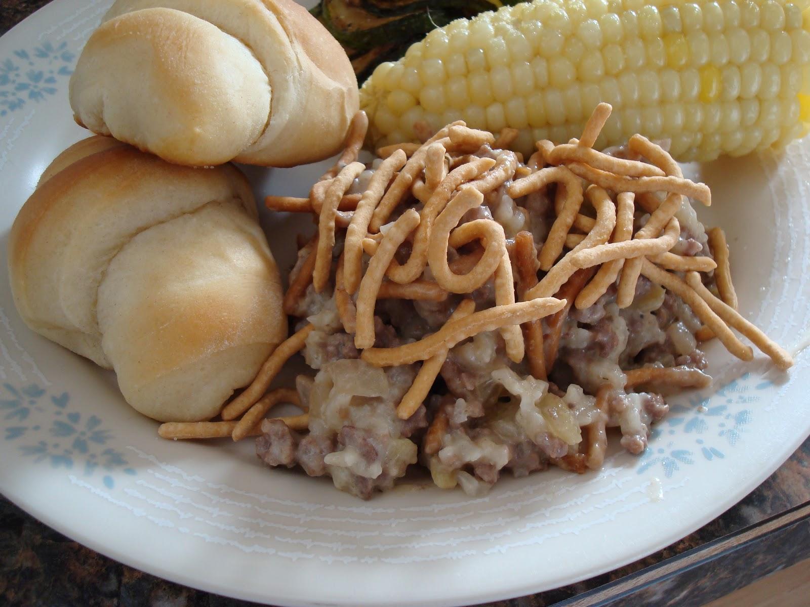 Make lemonade and more chinese hamburger casserole chinese hamburger casserole forumfinder Gallery