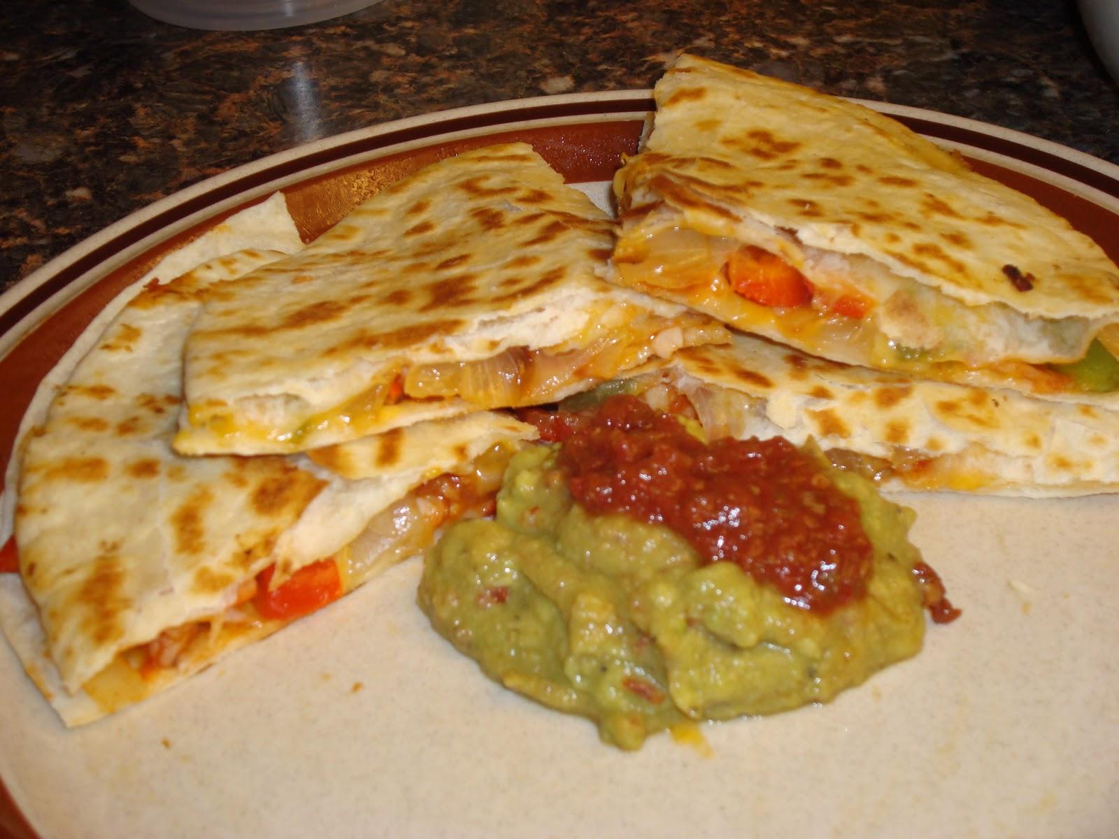 ... lemonade and more!: Quesadillas de Camarones (Shrimp Quesadilllas