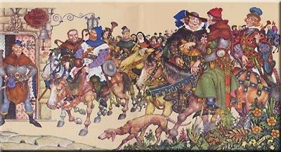 The Canterbury Tales,Geoffrey Chaucer