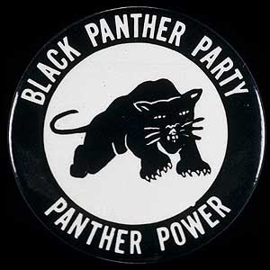 Black Panther party logo BPP