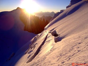 Amanece en el Mont Maudit