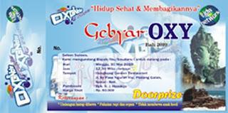 Gebyar oxy bali 2010