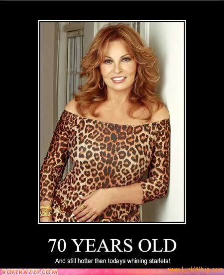 Raquel Welch 70 Years Old