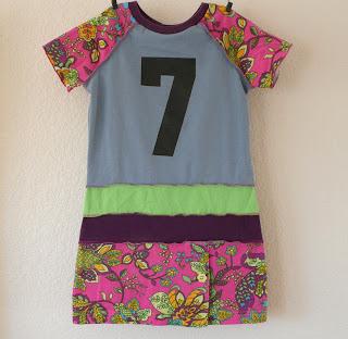 upcycled dress recycled birthday dress