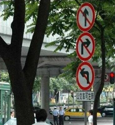 Prohibido moverse a ningun lado
