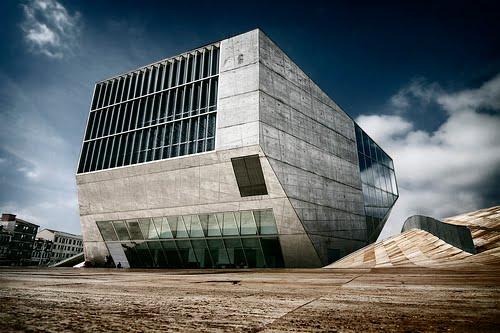 Hacia rutas salvajes edificios casa da m sica en oporto for Piscitelli casa de musica