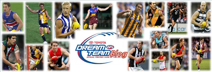 AFL Dream Team Blog