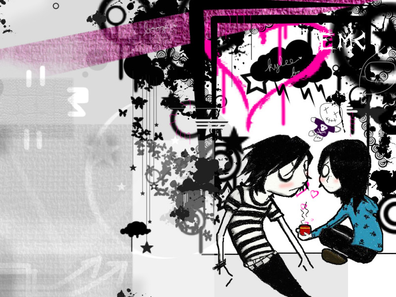 wallpaper emo pink. emo wallpapers.