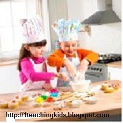 Teaching Kids While Cooking