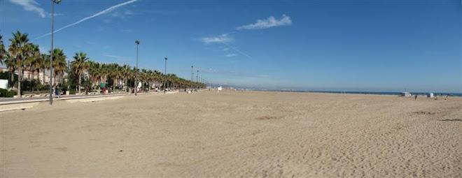 paseo maritimo  - playa del cabañal