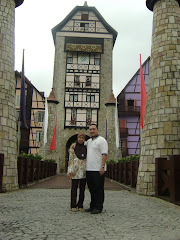 Loving Couple~My Beloved Hubby & Me @ Colmar Tropicale