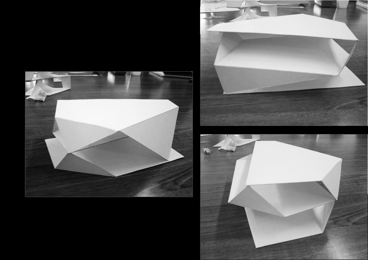 Architecture Habitat Folding Planes And Site