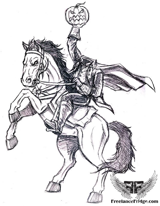 Headless Horseman Coloring Pages Coloring Pages Headless Horseman Coloring Pages