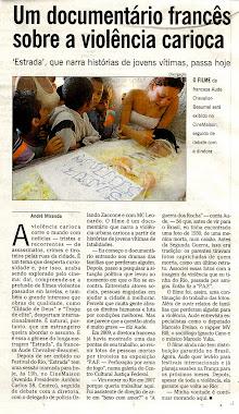 Materia Segundo Caderno - O Globo