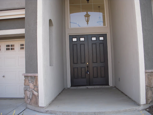 Landscaping Front Entry-Security