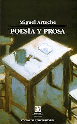 """""""POESÍA Y PROSA DE MIGUEL ARTECHE"""""""