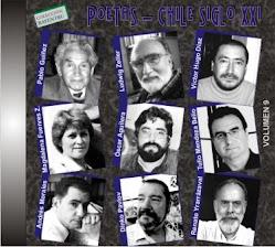 """""""POETAS - CHILE SIGLO XXI"""", CD DEL SELLO LEUTÚN CON LECTURA DE POEMAS DE ANDRÉS MORALES"""