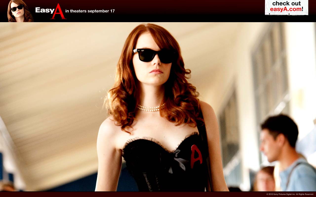 A MILLION OF WALLPAPERS.COM: EASY A MOVIE WALLPAPERS EMMA ... Emma Stone Movies