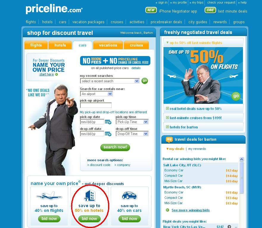 How To Bid For A Hotel On Priceline