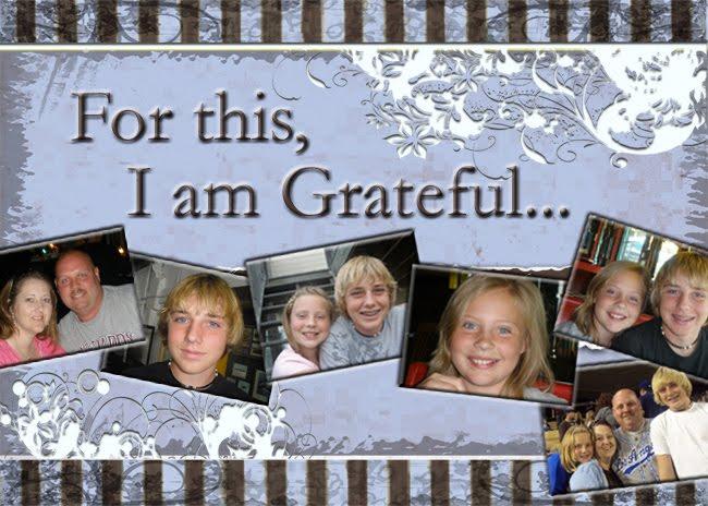 Tammy's Gratitude Blog