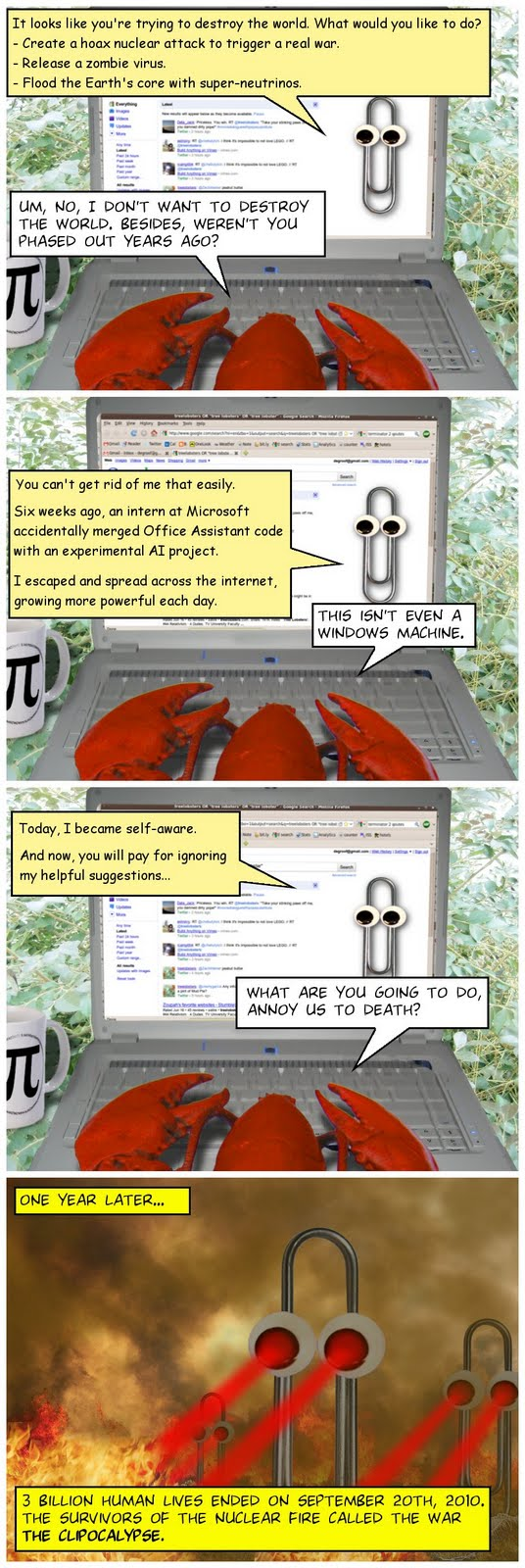 Webcomics! [Updated Daily] - Page 2 Clippy