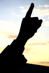 Silhouette - Joe Paterno Statue