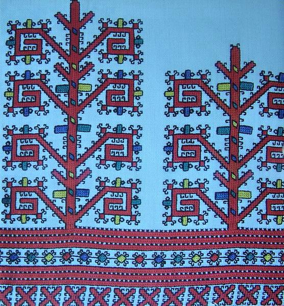факт: чувашская вышивка