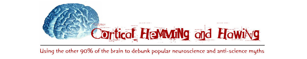 Cortical Hemming and Hawing