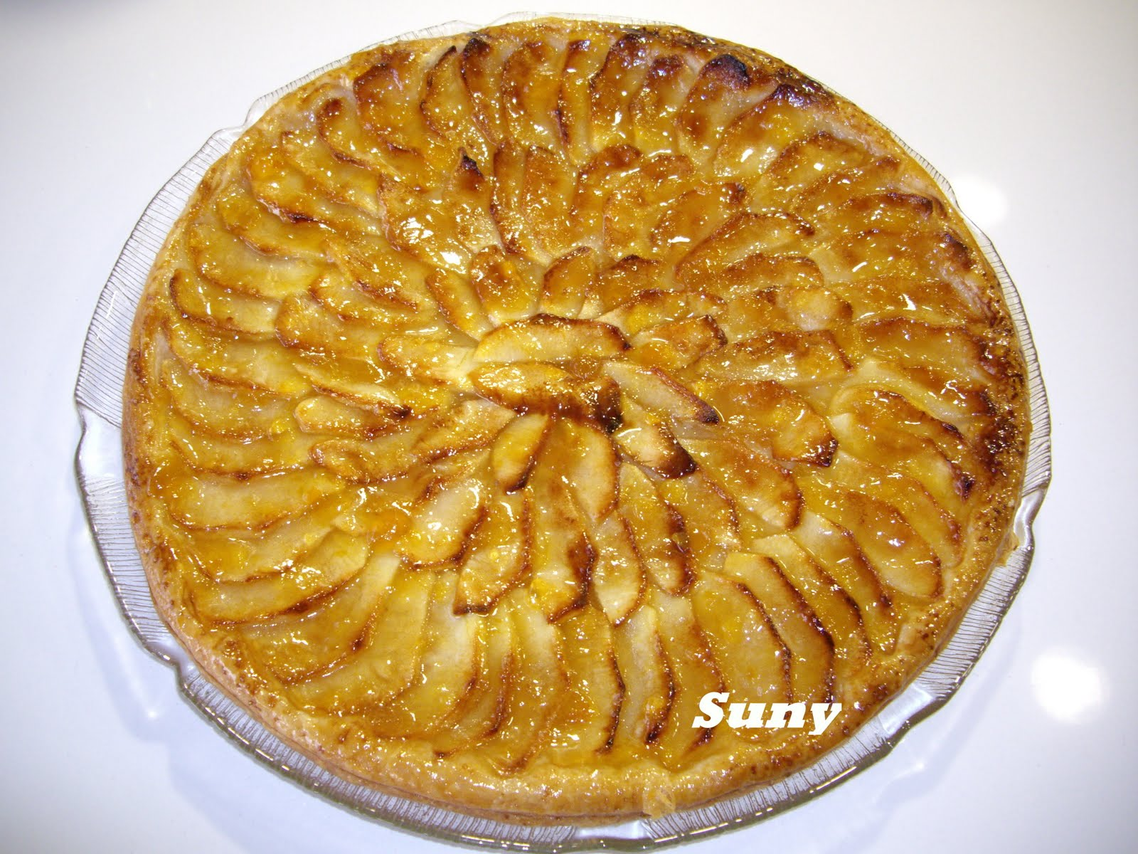 Olivas en la cocina tarta de manzana - Pure de castanas y manzana ...