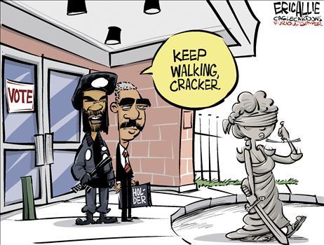 Obama racist voter