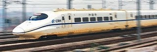 world fastest train from china