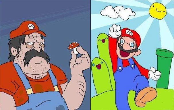 Imágenes graciosas, bizarras, estupidas - Página 6 Mario-origem