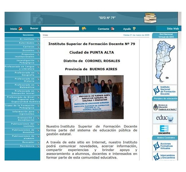 Geoperspectivas geograf a y educaci n instituto for Instituto formacion docente