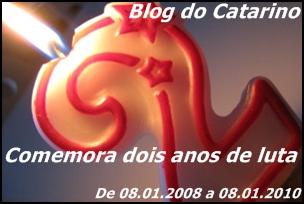 Blog do Catarino comemora dois anos de luta.