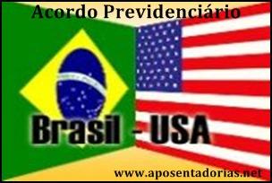 Acordo Previdenciário Brasil e EUA é fechado