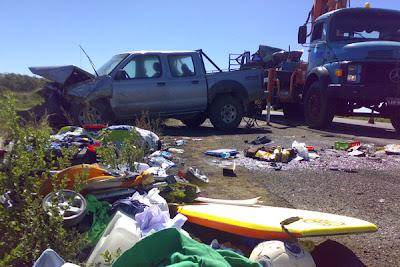 acidente com argentinos no trânsito