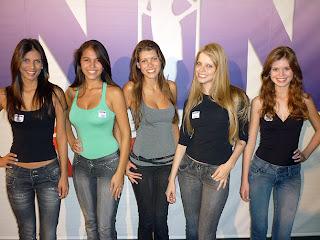 Menina Fantástica 2010. Eleitas em Brasília.