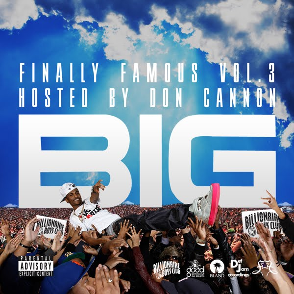 big sean finally famous vol 3 cover. too fake ig sean album cover.