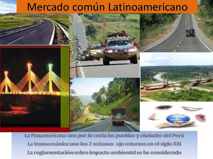 Que viva la Integracion Fisica Andinoamericana sustentable
